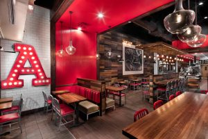 Fast Casual Restaurant Furniture Installation
