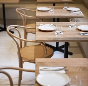 Cafe Install - Bentwood No. 30