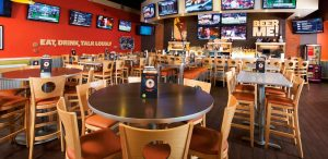 Buffalo Wings and Rings - Wood Melissa Barstools