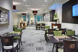 Chess Club - Wood Melissa Chairs