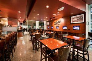 Shula's Bar and Grill - Wood Melissa Barstools