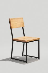 Brady Chair in Black and Honey