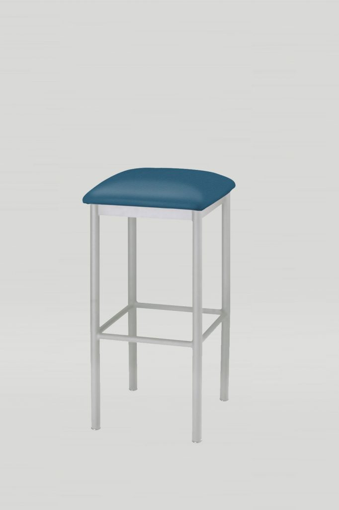 Atoll Barstool Upholstered Seat