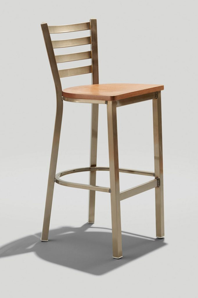 Melissa Anne Barstool with Wood Seat