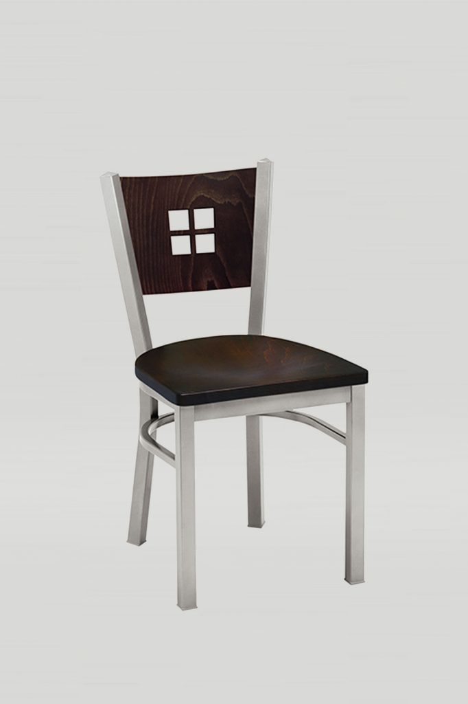 Melissa Anne Chair with Wood Back and Wood Seat