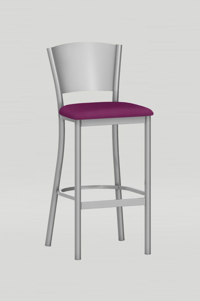 Artisan II Barstool with Metal Back