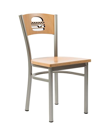Artisan II Chair With Hamburger Cutout