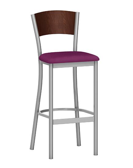 Artisan II Barstool with Wood Back