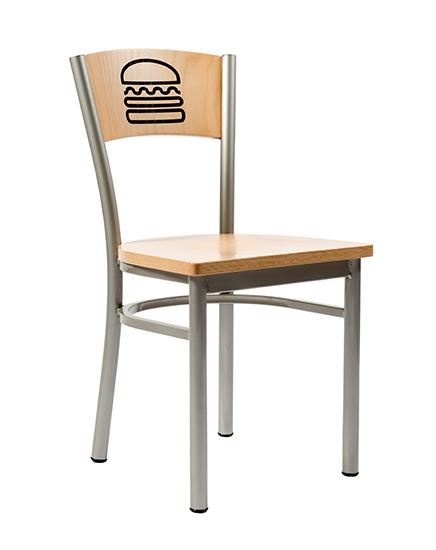 Artisan II Chair With Hamburger Engraving
