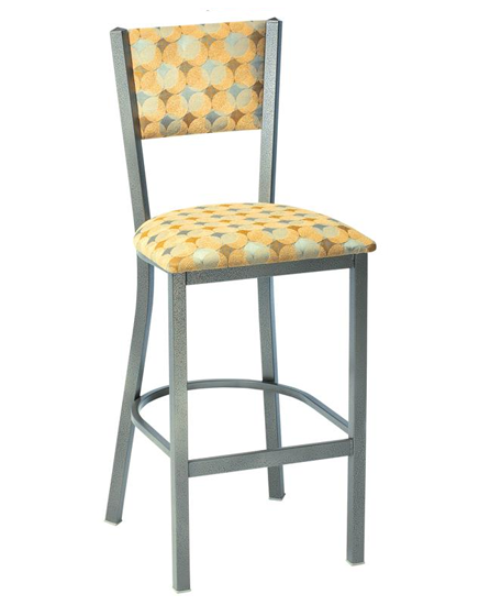 Mama Melissa Barstool with Upholstered Back