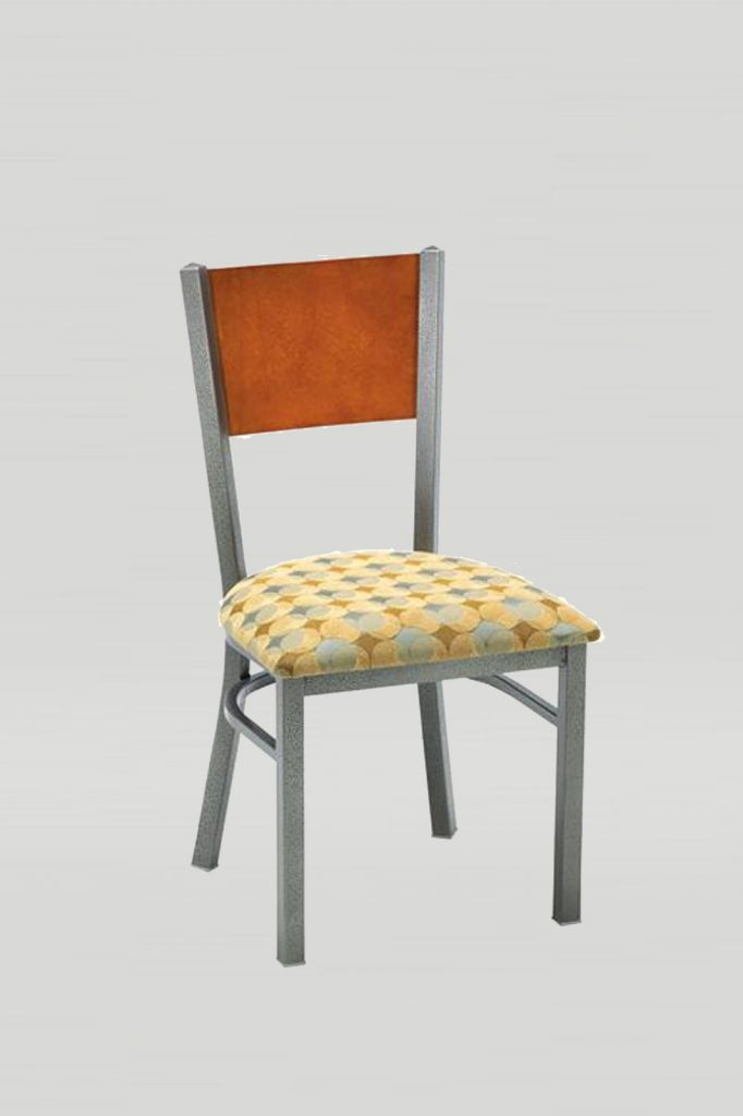 Metal Mama Melissa Chair with Wood Back