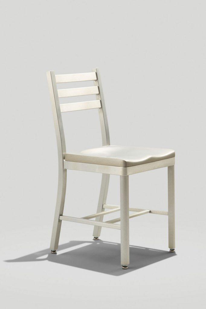 Atlantis Chair in Brushed Aluminum