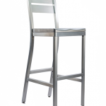 Atlantis Barstool With Two Slat Back