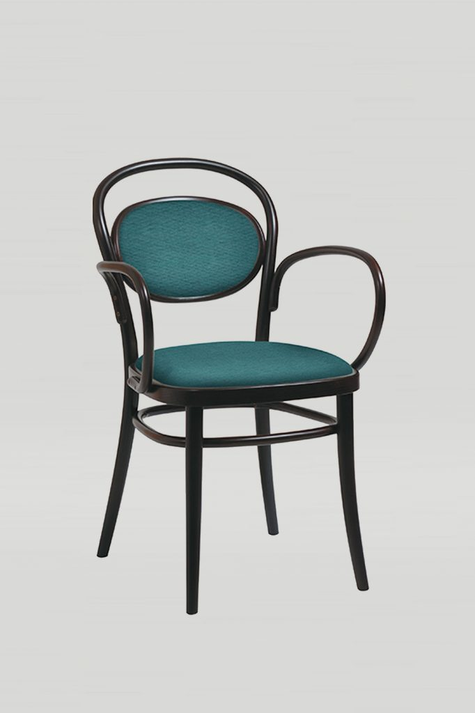 Bentwood No 20 Cafe Arm Chair in Kona
