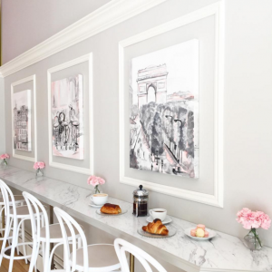 Le Bon Macaron - Bentwood No. 18 Barstools