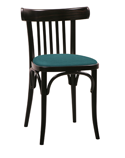 Bentwood No. 763 Chair with Upholstered Seat