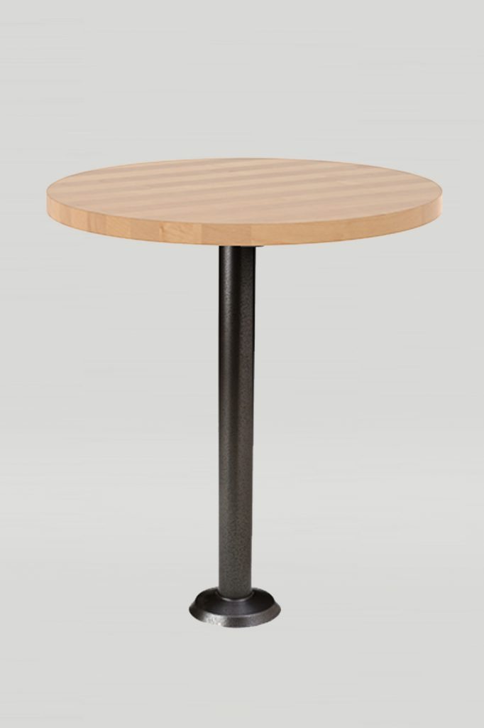 Core Drilled or Bolt Down Table