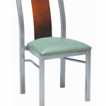 N310 Jill Nesting Chair with Wood Back