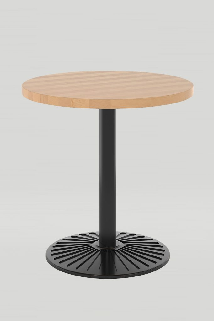 Dining Height Kalypso with Solid Wood Table