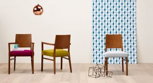Chloe Chair and Arm Chair Promotional Image