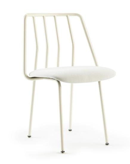 Leo Side Chair White