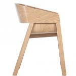 Merano Armchair Side Angle