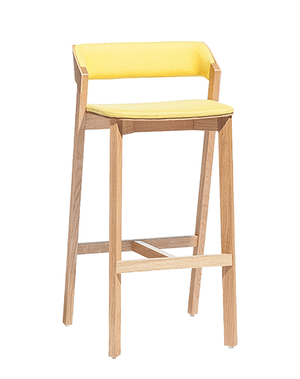 Merano Barstool Upholstered