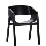 Merano Arm Chair Black