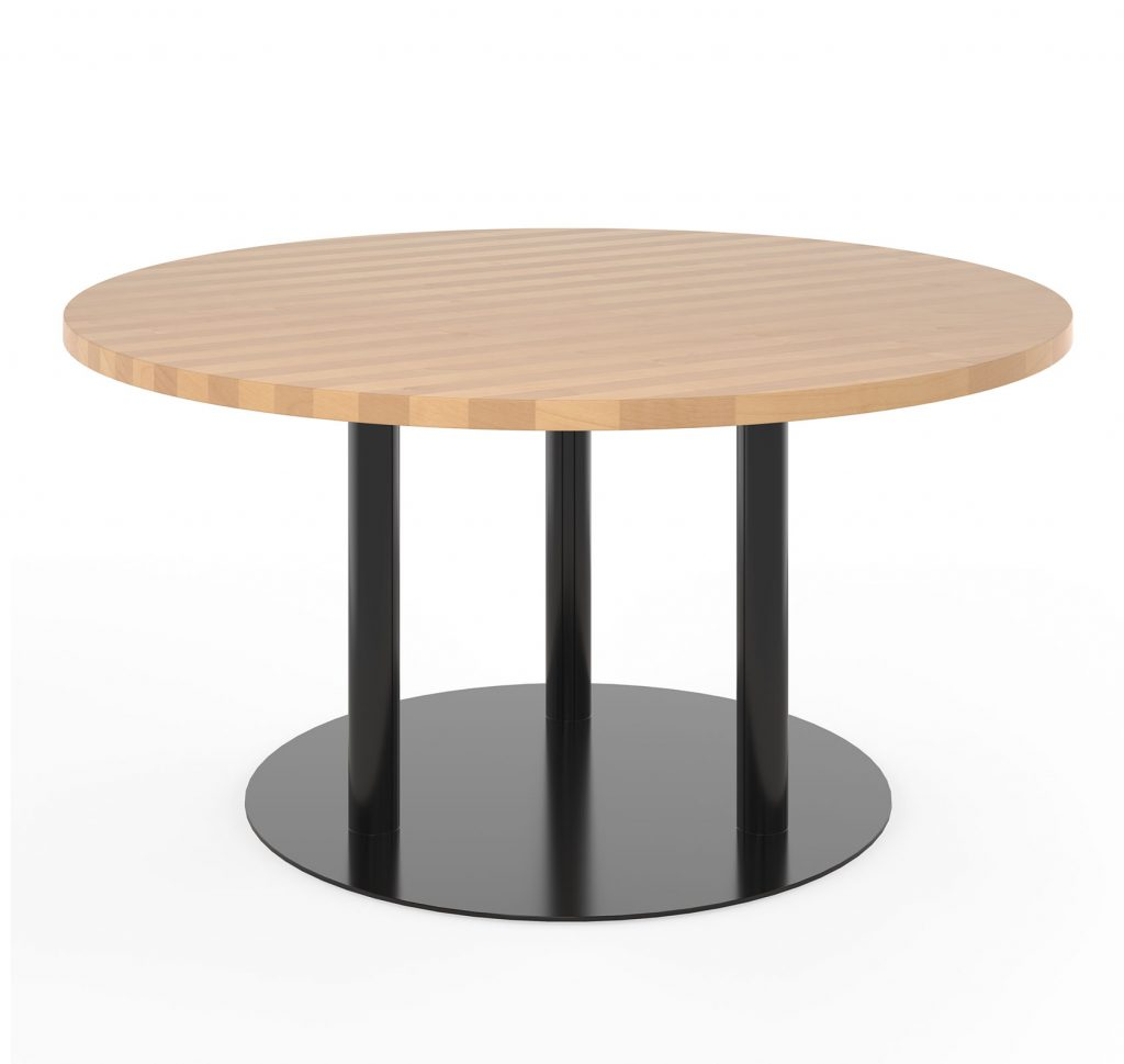 3 Column Round Dining Table