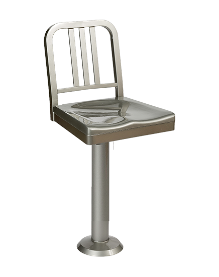 Siren Barstool with bolt down seat