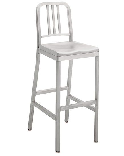 Siren Barstool Aluminum Seat