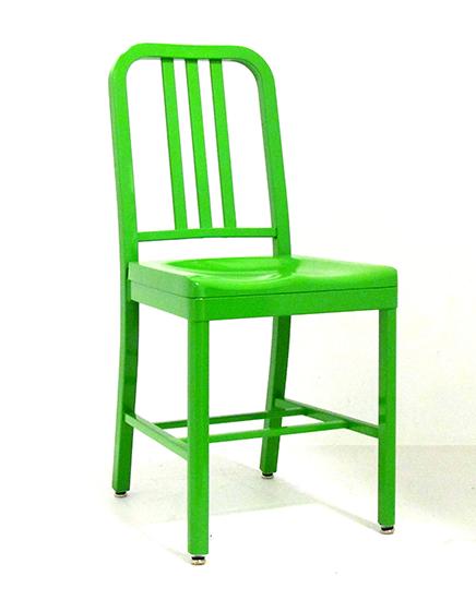 Green Siren Chair in yellow green