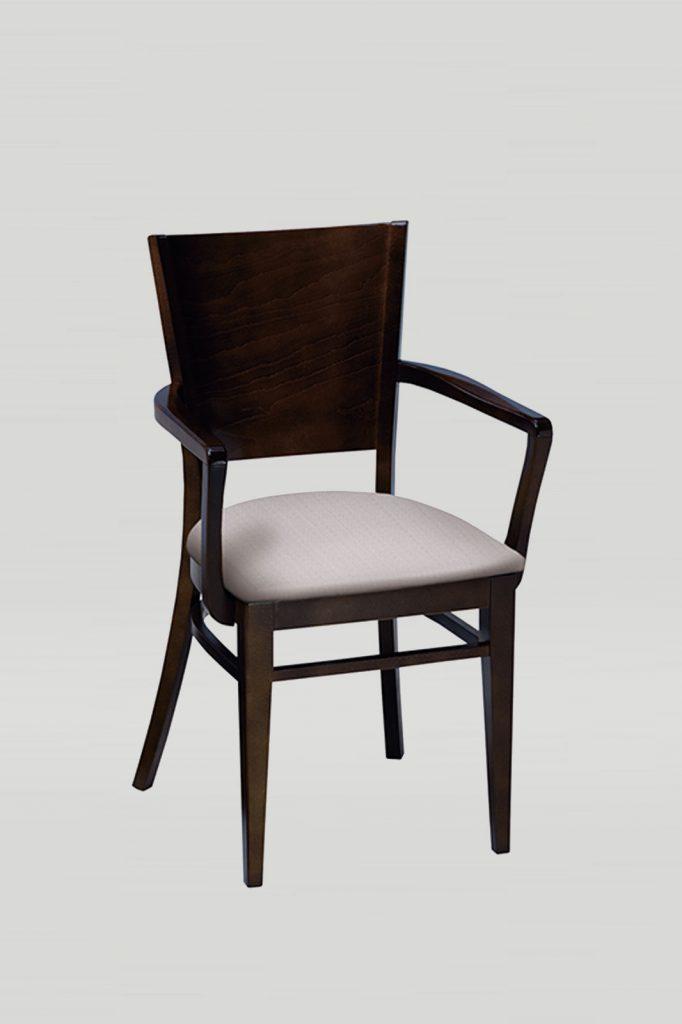 Wood Melissa Arm Chair