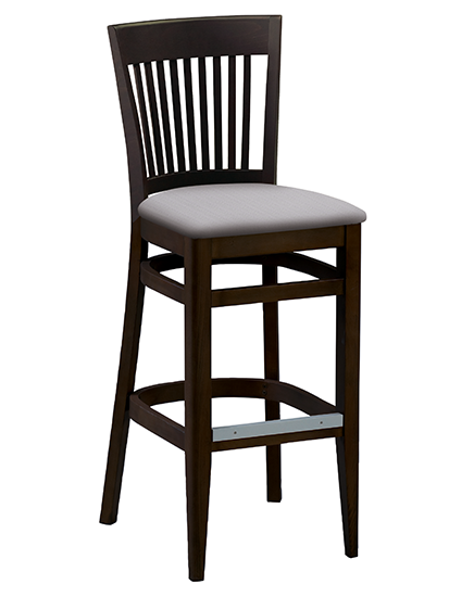 Wood Melissa Barstool Gr Chair