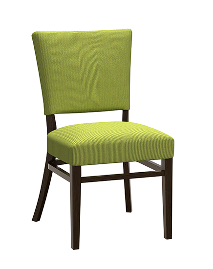 Wood Mama Melissa Chair with upholstered variation