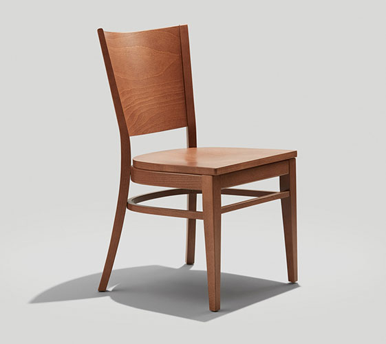 Wood Mama Melissa Chair with Wood Seat