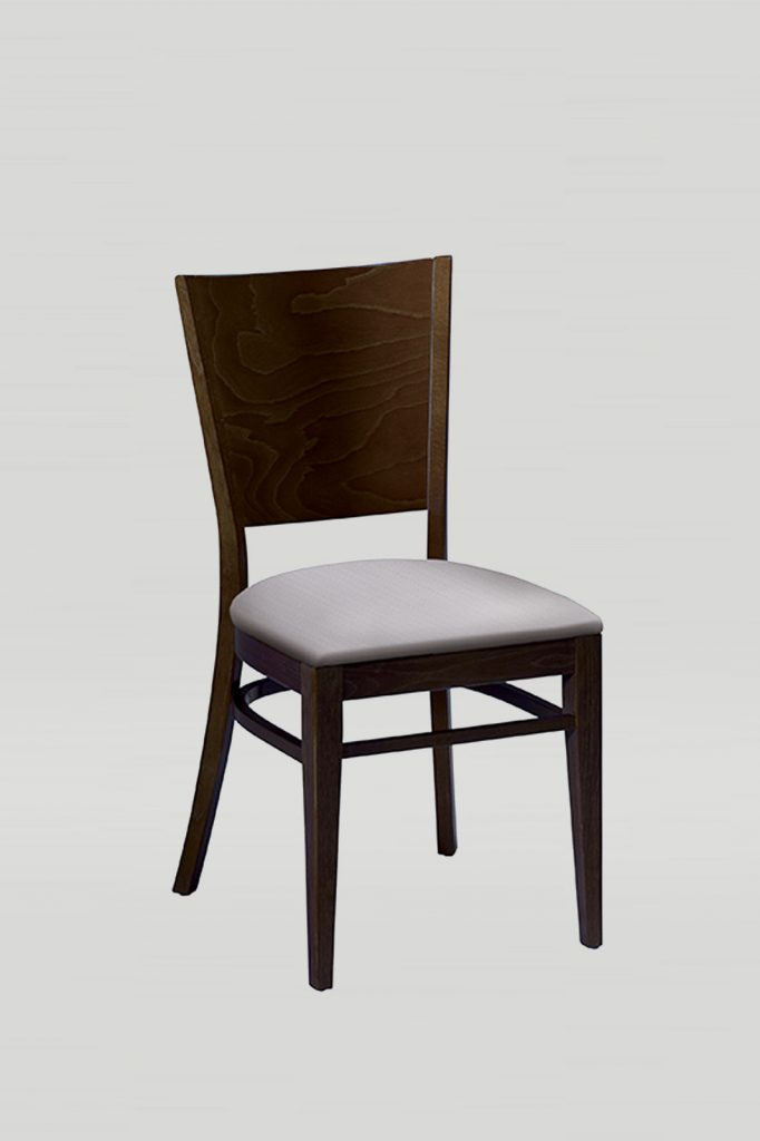 Nesting Wood Melissa Chair With Solid Wood Back