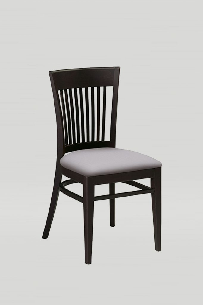 Nesting Wood Melissa Chair With Vertical Slats