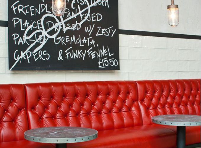 red vinyl | GR Chair on
