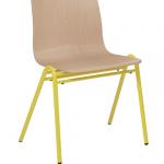Harper Stacking Restaurant chair yellow