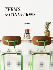 Terms and Conditions - Grand Rapids Chair Company