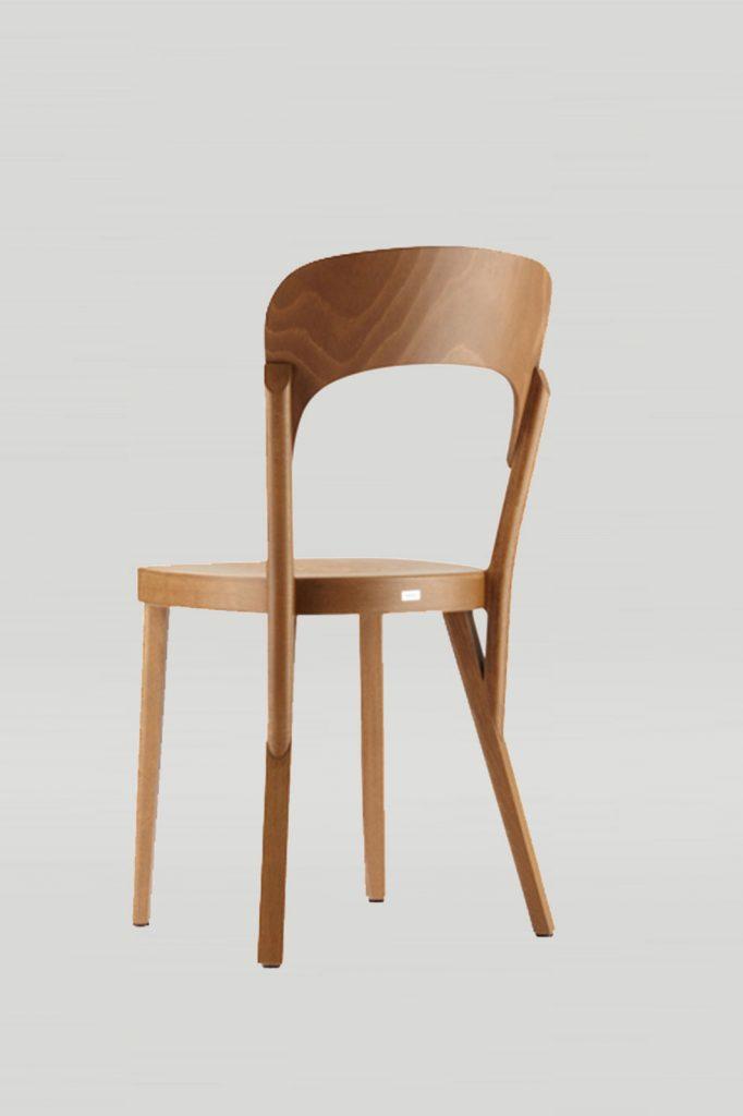 Tilly Chair In Honey, Back