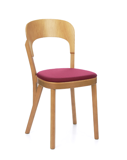 Tilly, a modern wood restaurant chair