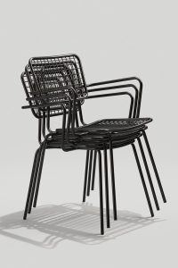 Opla Arm Chair Stacked