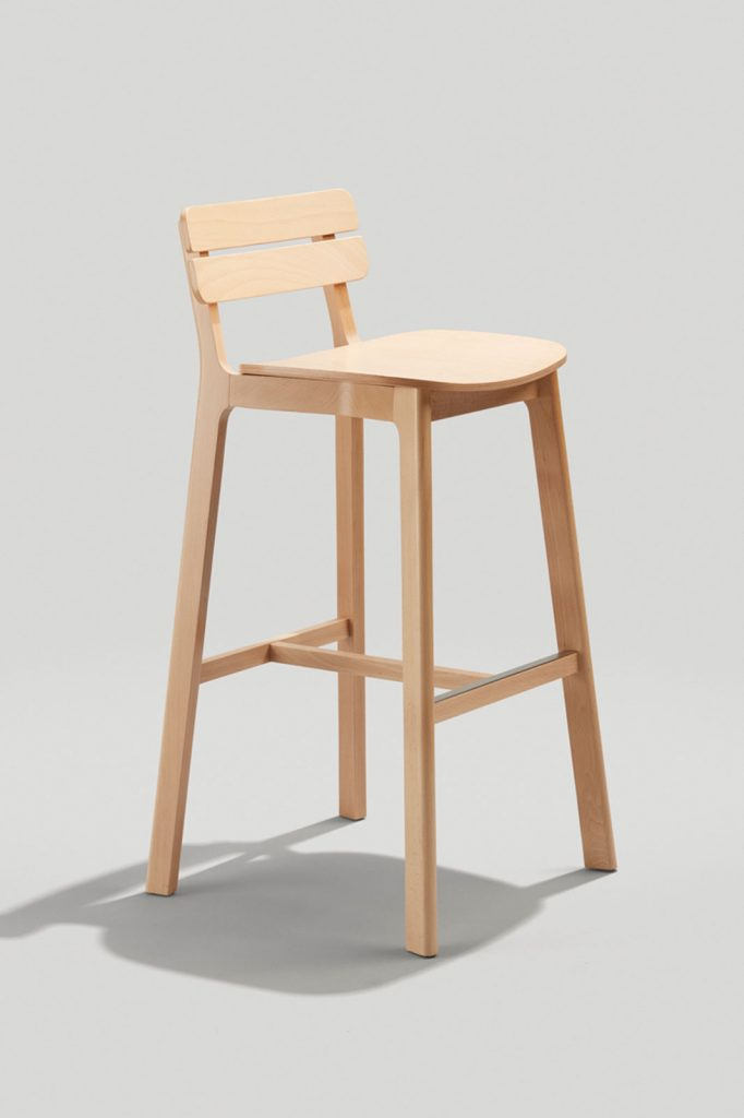 Brooke Barstool in Natural