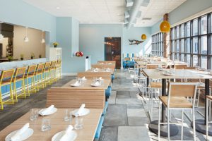 Brady Modern Barstools in Tapestry Restaurant