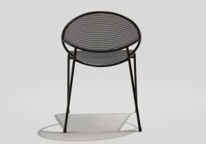 Back view of the Hula chair in black