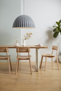 Frankie Communal Table with Brooke Chairs