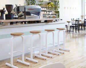 Sir Burly at Modern Coffee Shop