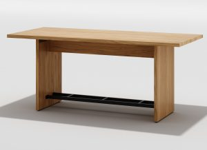 Counter Height Communal Dining Table